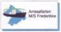 M/S Frederikkes nye logo.